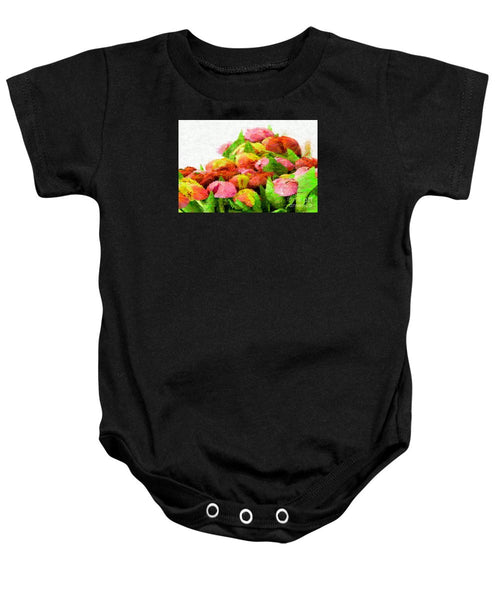 Baby Onesie - Abstract Flower 0727