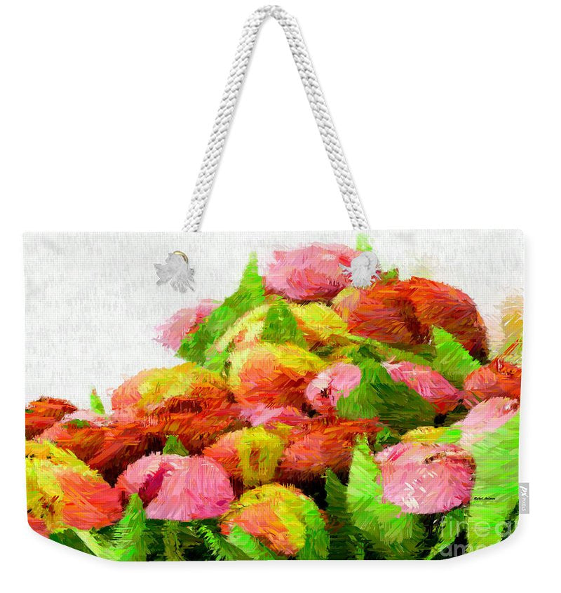 Weekender Tote Bag - Abstract Flower 0727