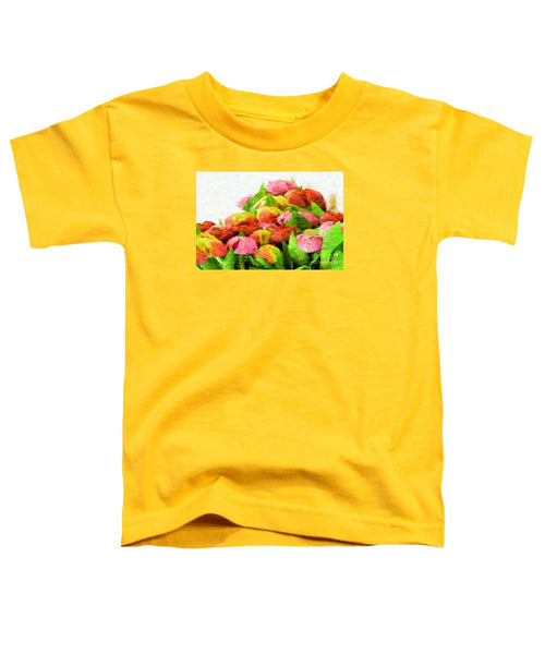 Toddler T-Shirt - Abstract Flower 0727
