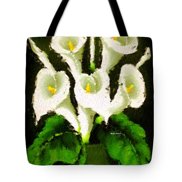 Tote Bag - Abstract Flower 079