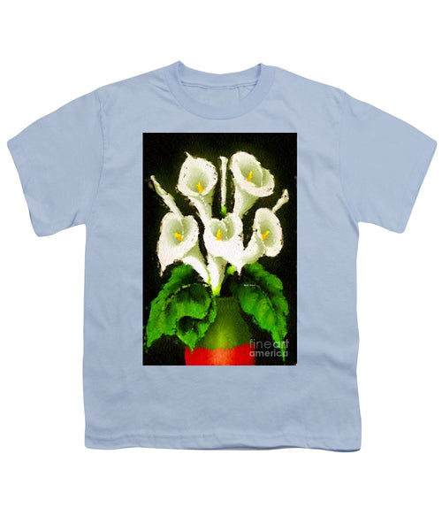 Youth T-Shirt - Abstract Flower 079