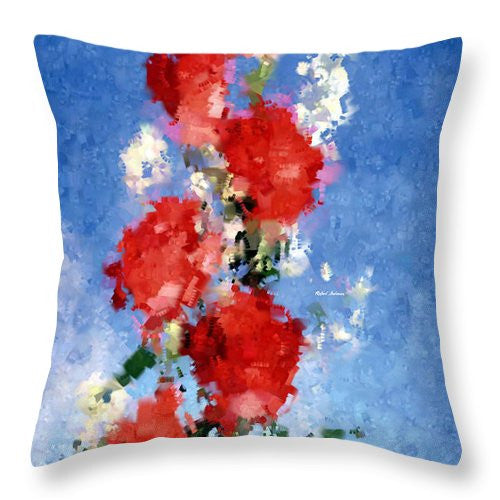 Throw Pillow - Abstract Flower 0792