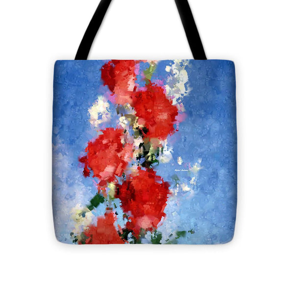 Tote Bag - Abstract Flower 0792