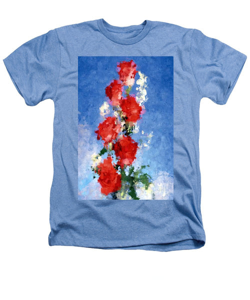 Heathers T-Shirt - Abstract Flower 0792