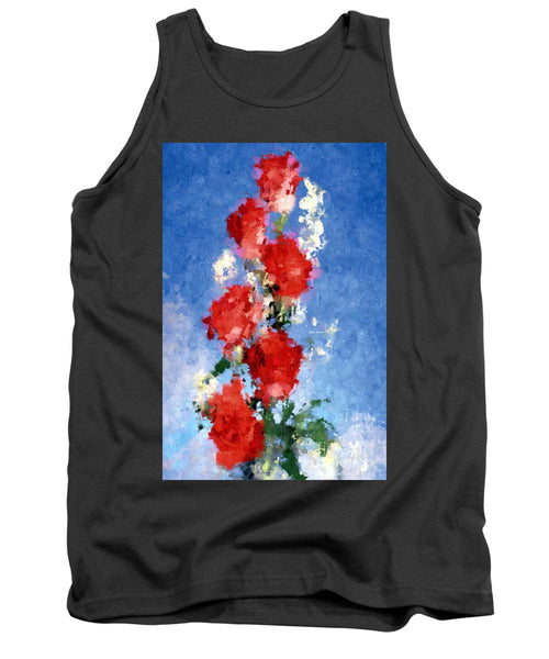 Tank Top - Abstract Flower 0792