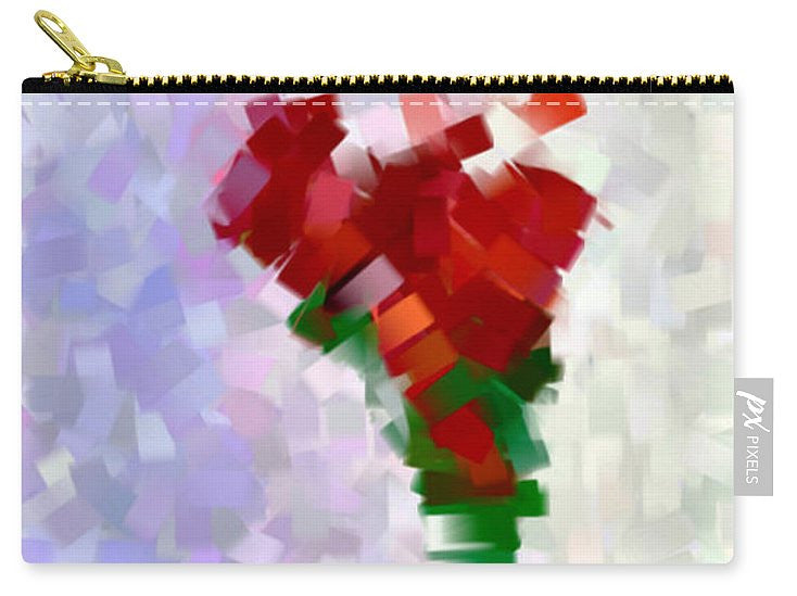 Carry-All Pouch - Abstract Flower 0793