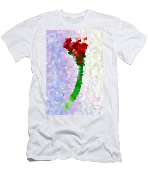Men's T-Shirt (Slim Fit) - Abstract Flower 0793