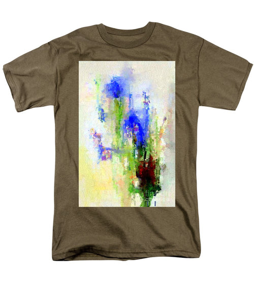 Men's T-Shirt  (Regular Fit) - Abstract Flower 0797