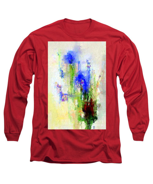 Long Sleeve T-Shirt - Abstract Flower 0797