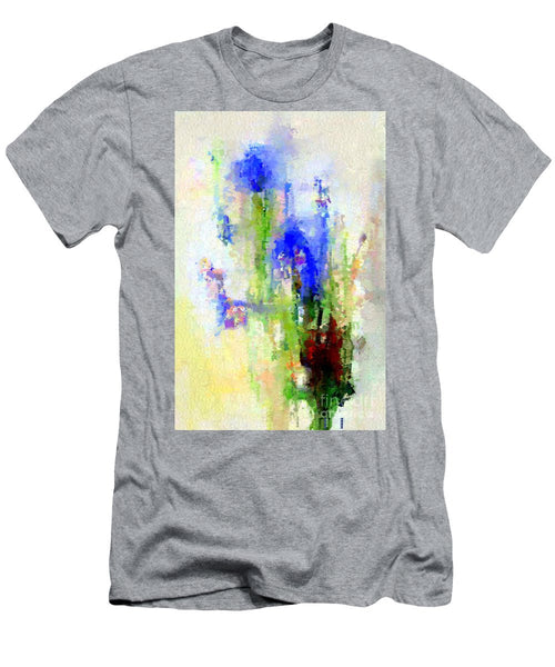 Men's T-Shirt (Slim Fit) - Abstract Flower 0797