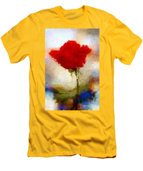 Men's T-Shirt (Slim Fit) - Abstract Flower 07978