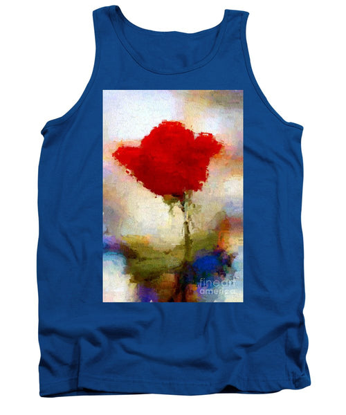 Tank Top - Abstract Flower 07978