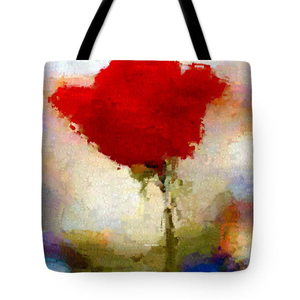 Tote Bag - Abstract Flower 07978