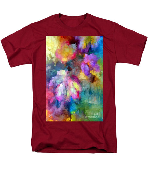 Men's T-Shirt  (Regular Fit) - Abstract Flower 0800