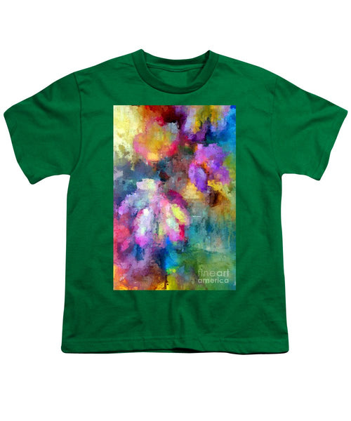 Youth T-Shirt - Abstract Flower 0800