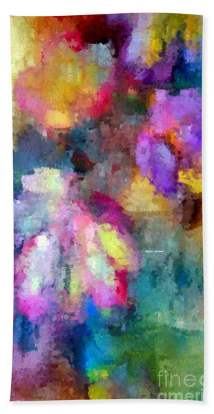 Towel - Abstract Flower 0800
