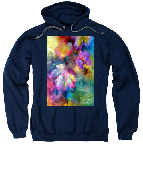 Sweatshirt - Abstract Flower 0800