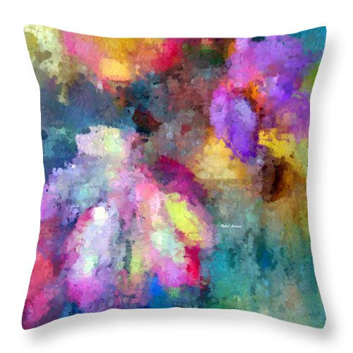 Throw Pillow - Abstract Flower 0800