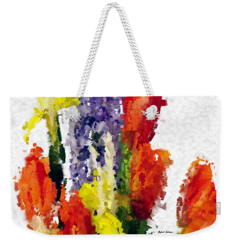 Weekender Tote Bag - Abstract Flower 0801