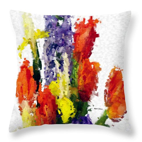 Throw Pillow - Abstract Flower 0801