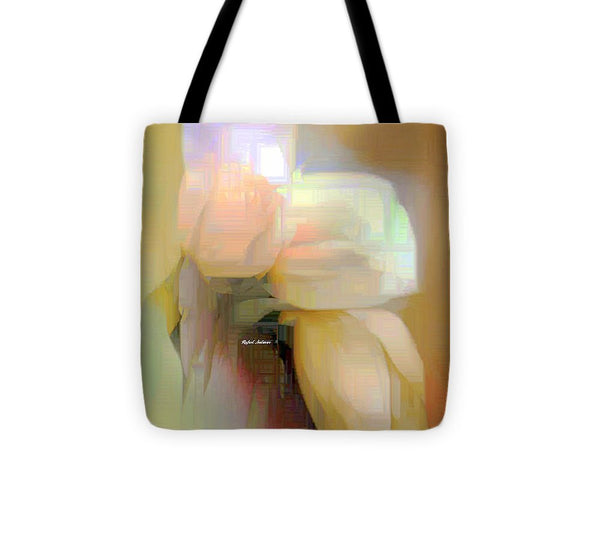 Tote Bag - Abstract Flower 9238