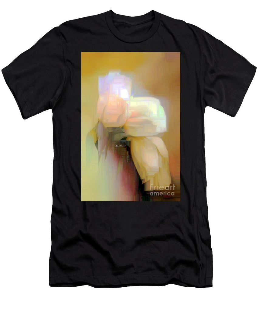 Men's T-Shirt (Slim Fit) - Abstract Flower 9238
