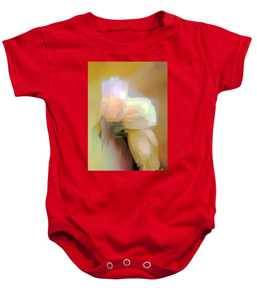 Baby Onesie - Abstract Flower 9238