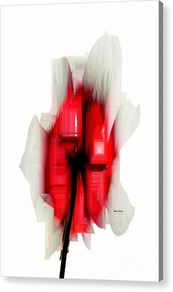 Acrylic Print - Abstract Flower