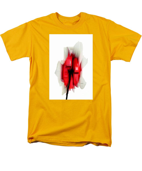 Men's T-Shirt  (Regular Fit) - Abstract Flower
