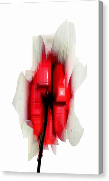 Canvas Print - Abstract Flower