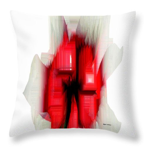 Throw Pillow - Abstract Flower