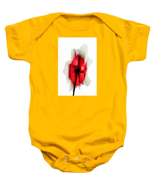Baby Onesie - Abstract Flower