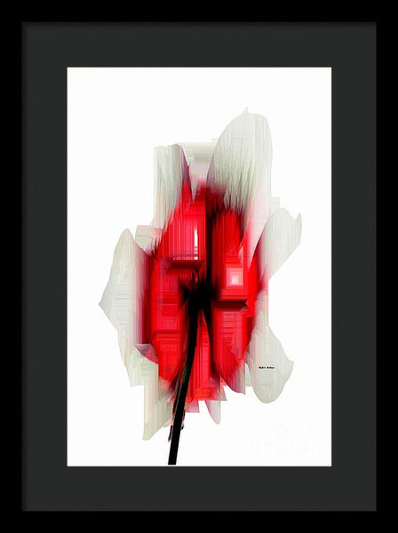 Framed Print - Abstract Flower