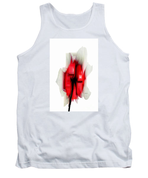 Tank Top - Abstract Flower