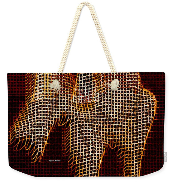 Weekender Tote Bag - Abstract Horse