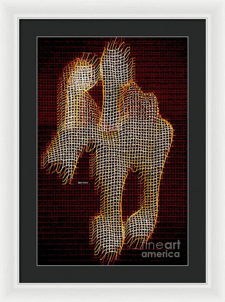 Framed Print - Abstract Horse