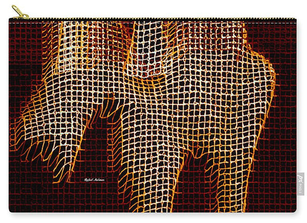 Carry-All Pouch - Abstract Horse