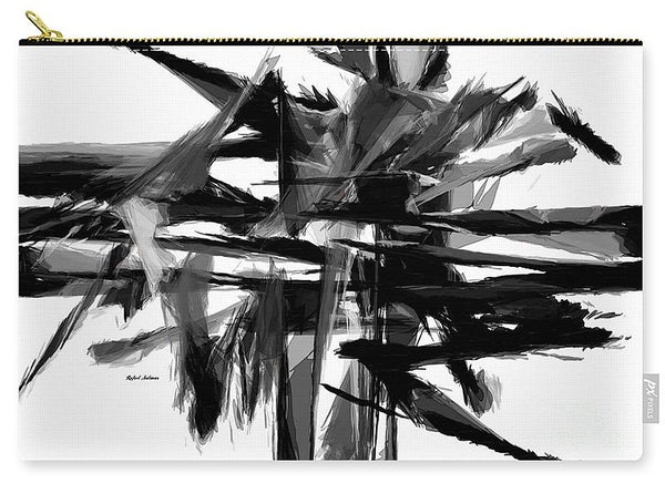 Carry-All Pouch - Abstract In Black And White 0722