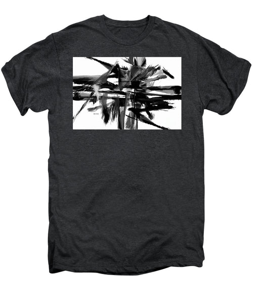 Men's Premium T-Shirt - Abstract In Black And White 0722