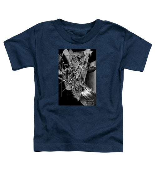 Toddler T-Shirt - Abstract In Black And White 2