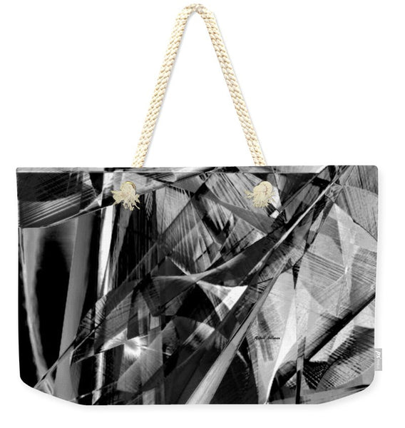 Weekender Tote Bag - Abstract In Black And White