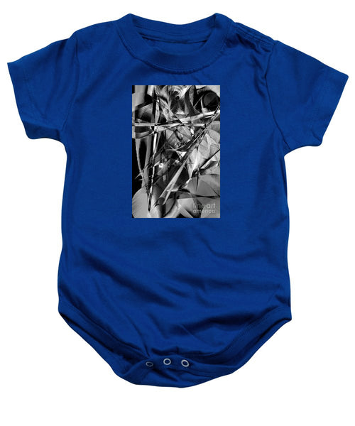 Baby Onesie - Abstract In Black And White
