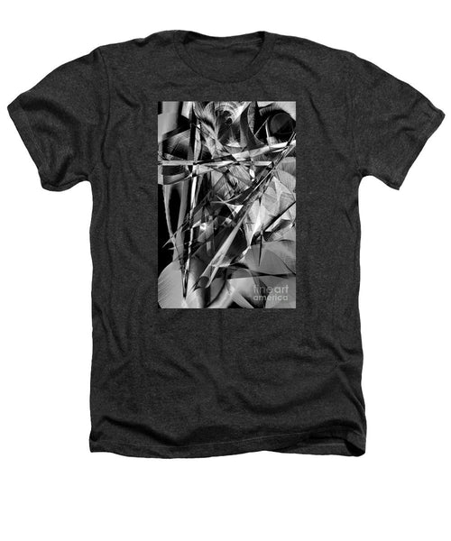 Heathers T-Shirt - Abstract In Black And White