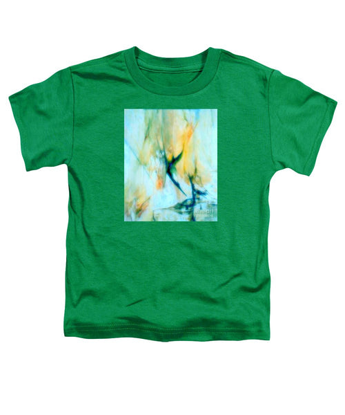 Toddler T-Shirt - Abstract In Blue