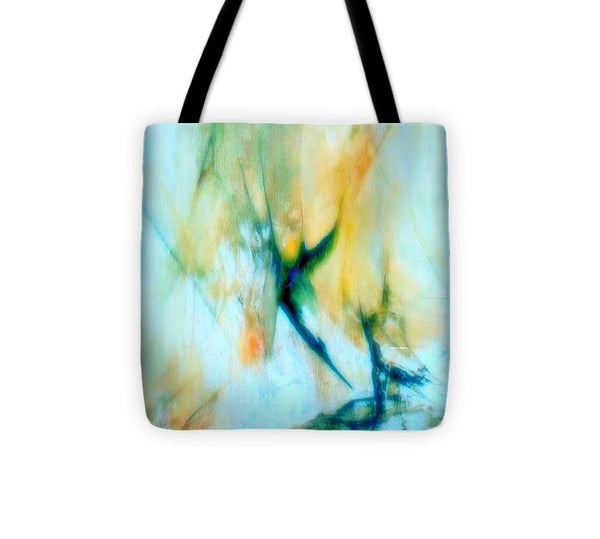 Tote Bag - Abstract In Blue