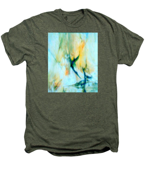 Men's Premium T-Shirt - Abstract In Blue