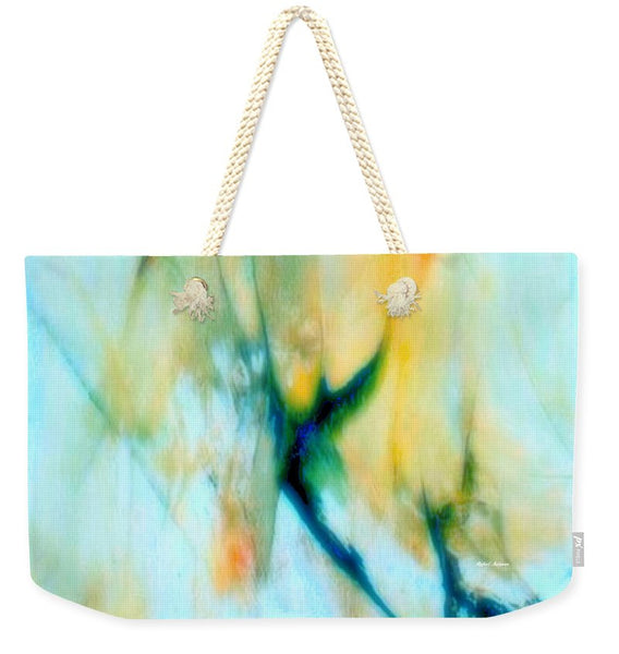 Weekender Tote Bag - Abstract In Blue