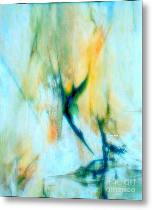 Metal Print - Abstract In Blue
