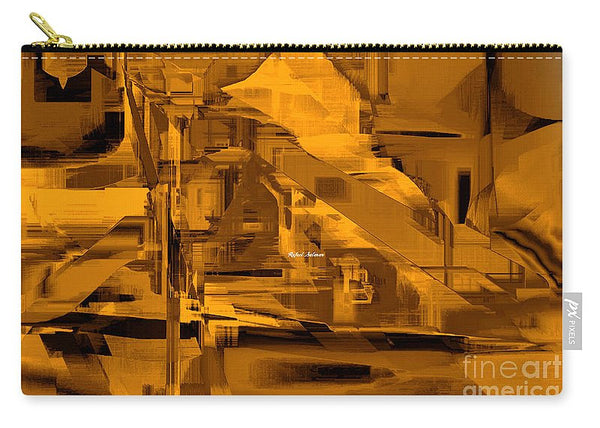 Carry-All Pouch - Abstract In Sepia