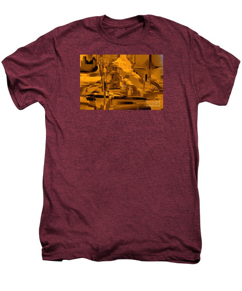 Men's Premium T-Shirt - Abstract In Sepia